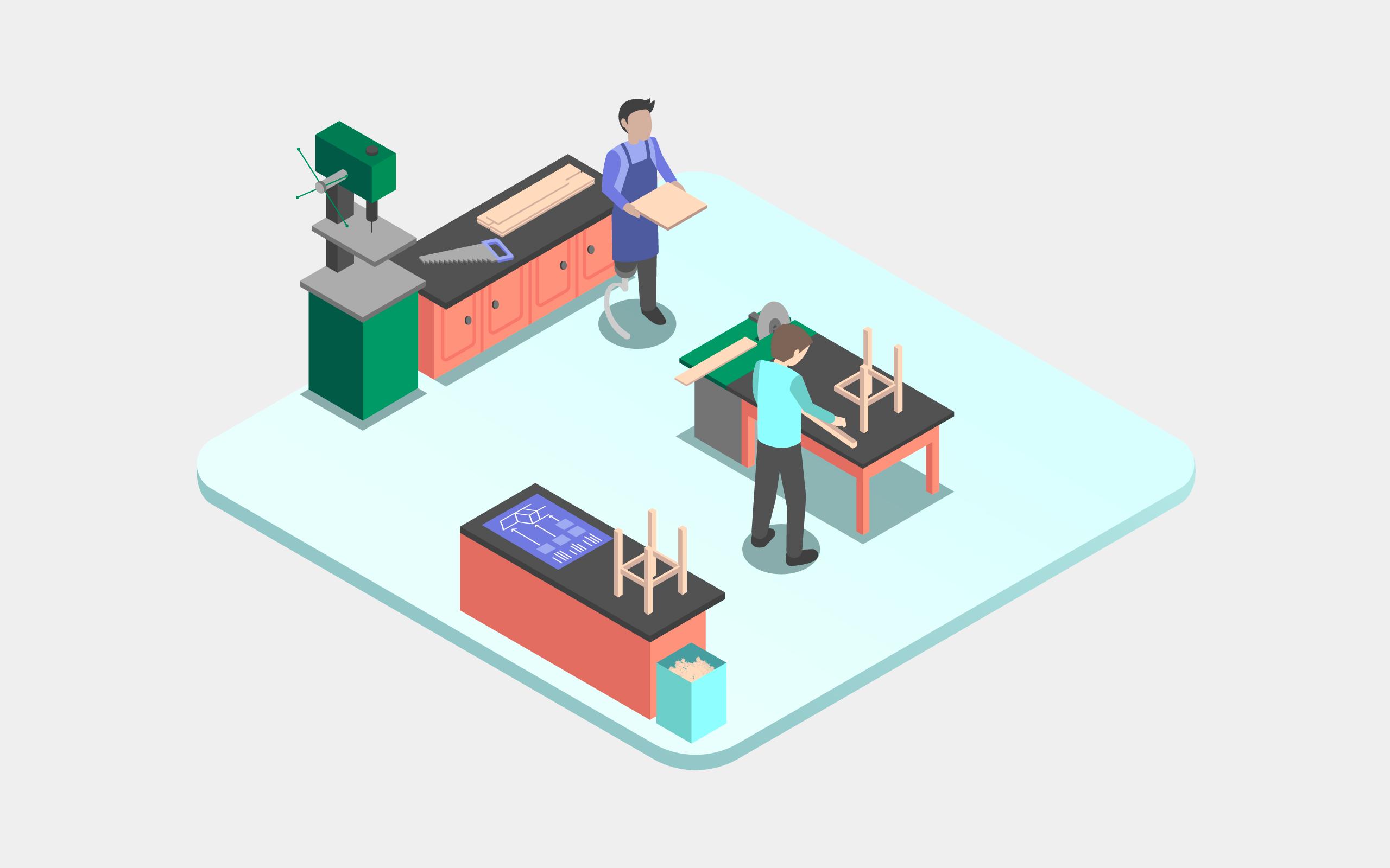 BAGüS – Illustrationswelt und Template-Gestaltung